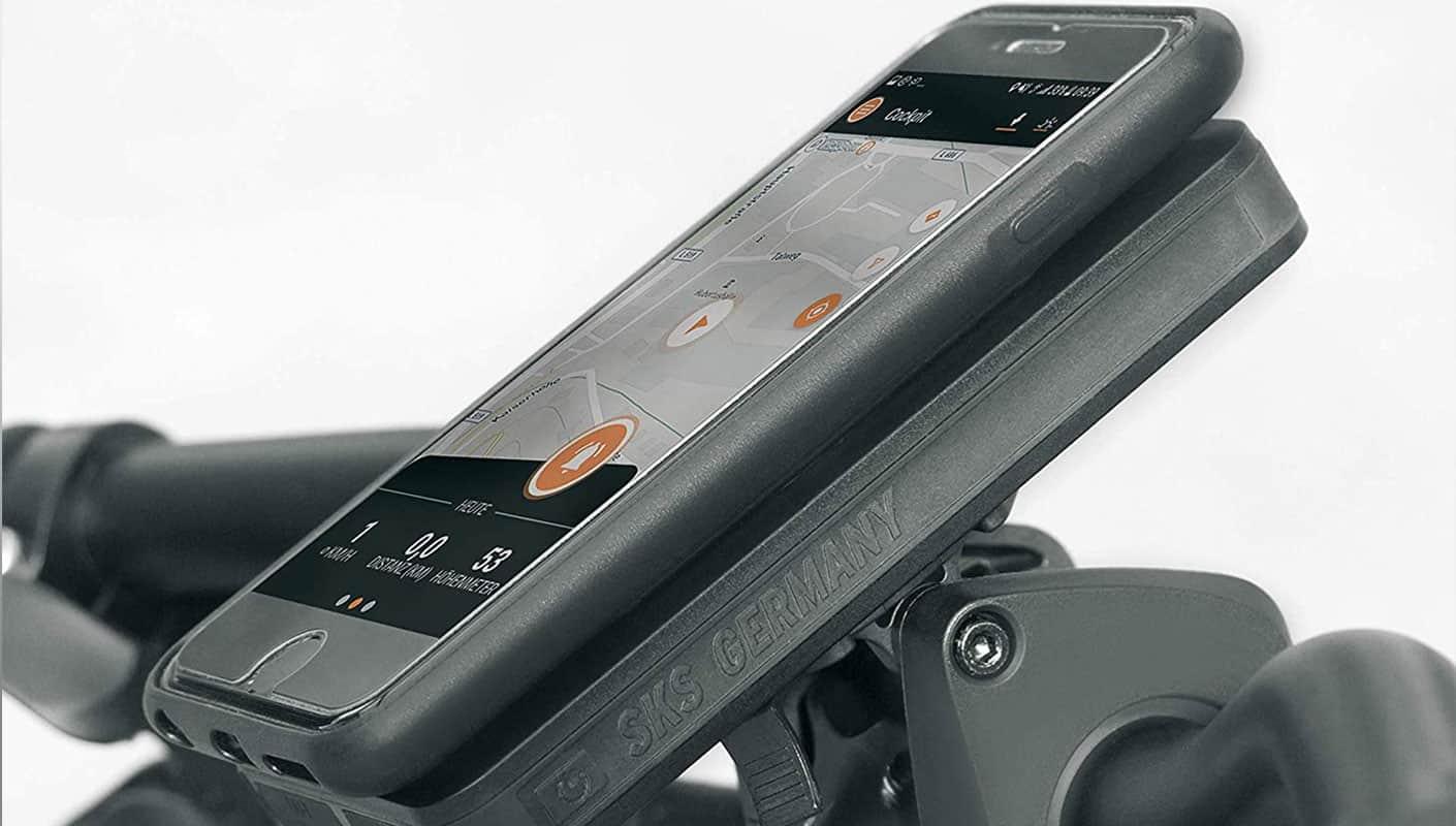 Handyhalterung mit Powerbank Fahrrad