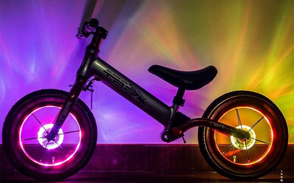 LED Speichenlichter für Kinderfahrräder