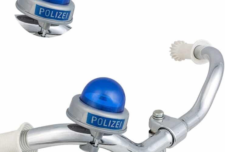 POII7FI Polizei Fahrradklingel