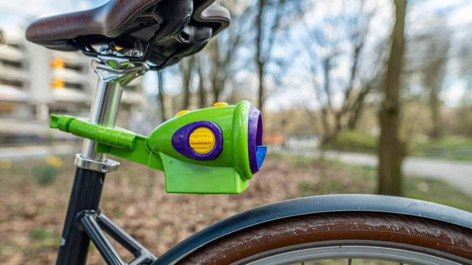 Seifenblasenmaschine Fahrrad