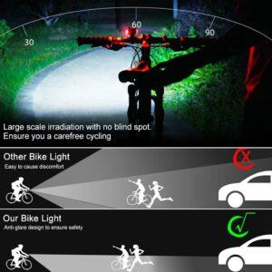 Crazy LED Fahrradcomputer Frontlicht